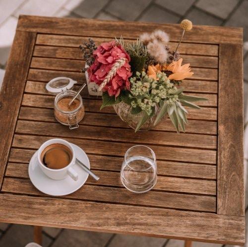 einen Kaffee zwischendurch